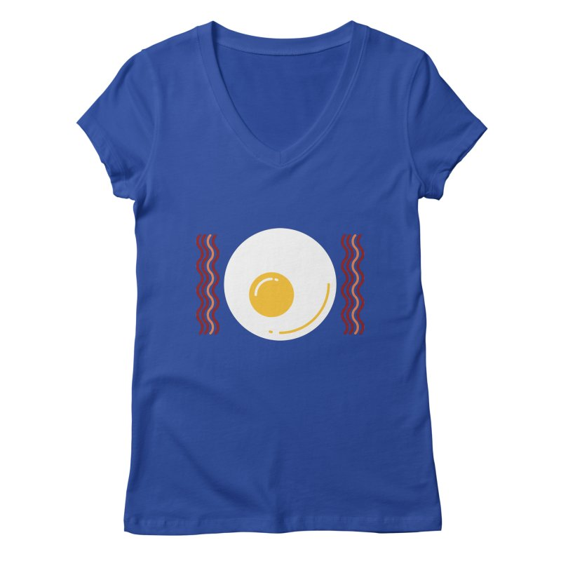 Most Important Meal Women's Regular V-Neck by TravisPixels's Artist Shop