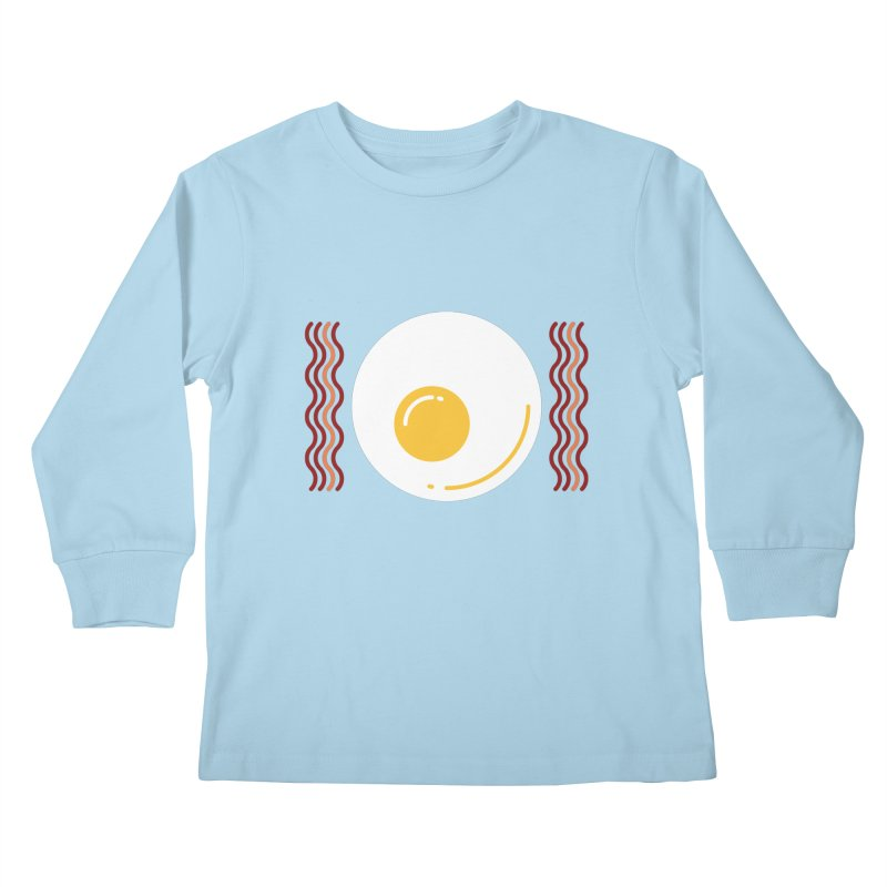 Most Important Meal Kids Longsleeve T-Shirt by TravisPixels's Artist Shop