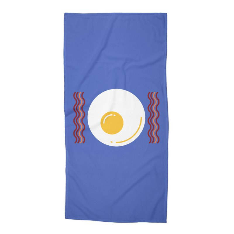 Most Important Meal Accessories Beach Towel by TravisPixels's Artist Shop
