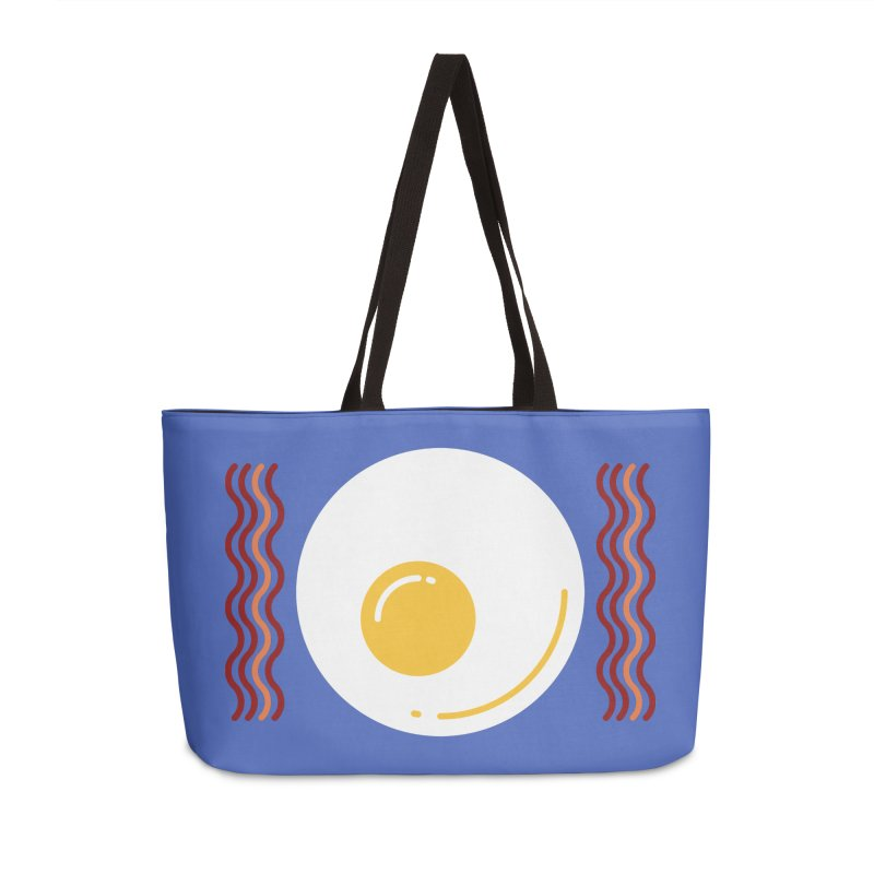 Most Important Meal Accessories Weekender Bag Bag by TravisPixels's Artist Shop