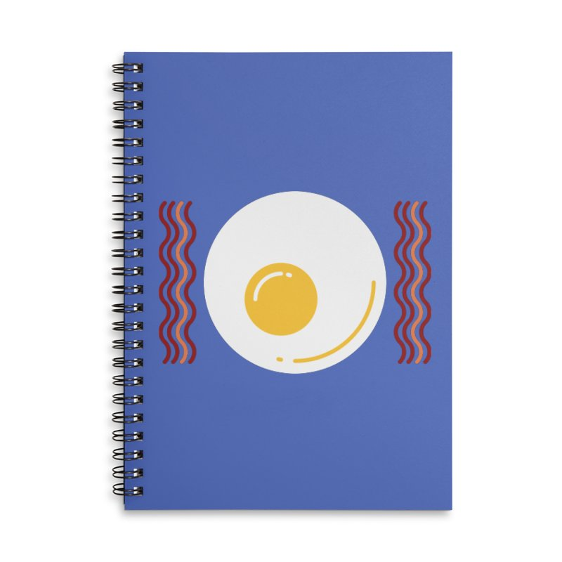 Most Important Meal Accessories Lined Spiral Notebook by TravisPixels's Artist Shop