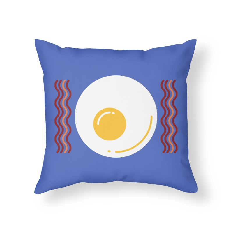 Most Important Meal Home Throw Pillow by TravisPixels's Artist Shop