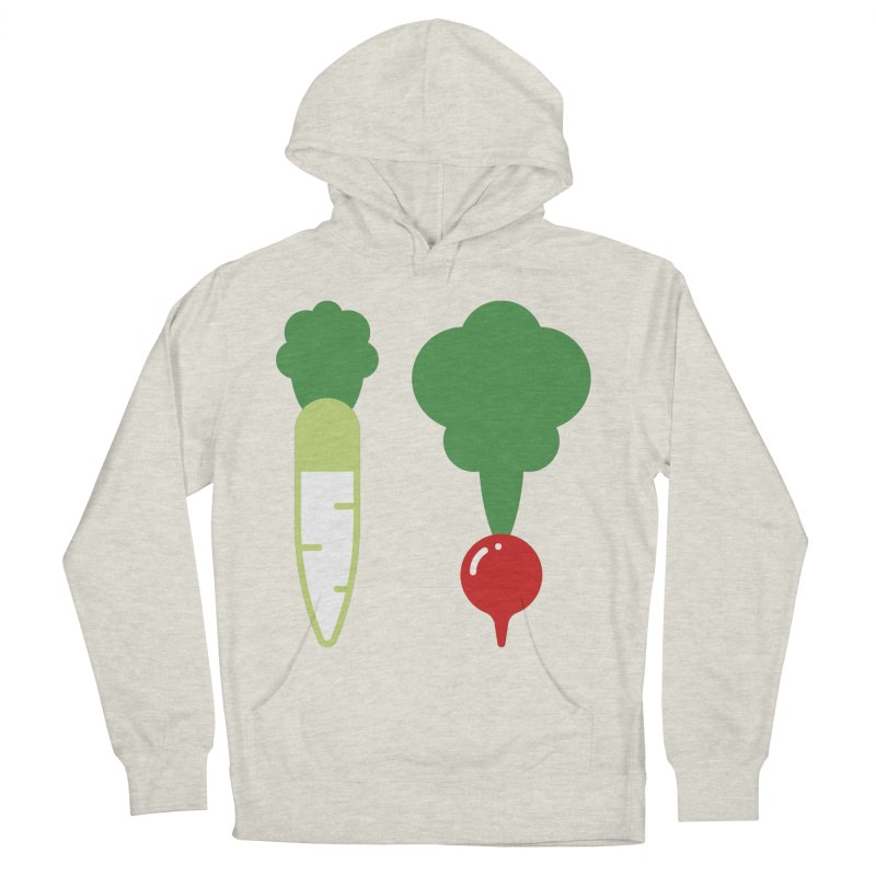Radish Bros. Women's French Terry Pullover Hoody by TravisPixels's Artist Shop