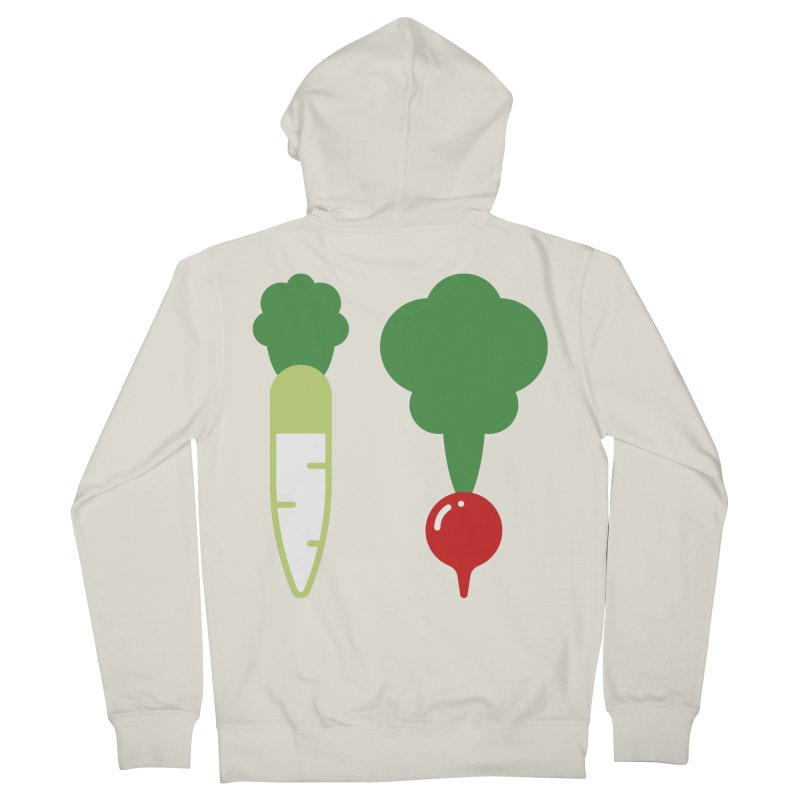 Radish Bros. Men's French Terry Zip-Up Hoody by TravisPixels's Artist Shop