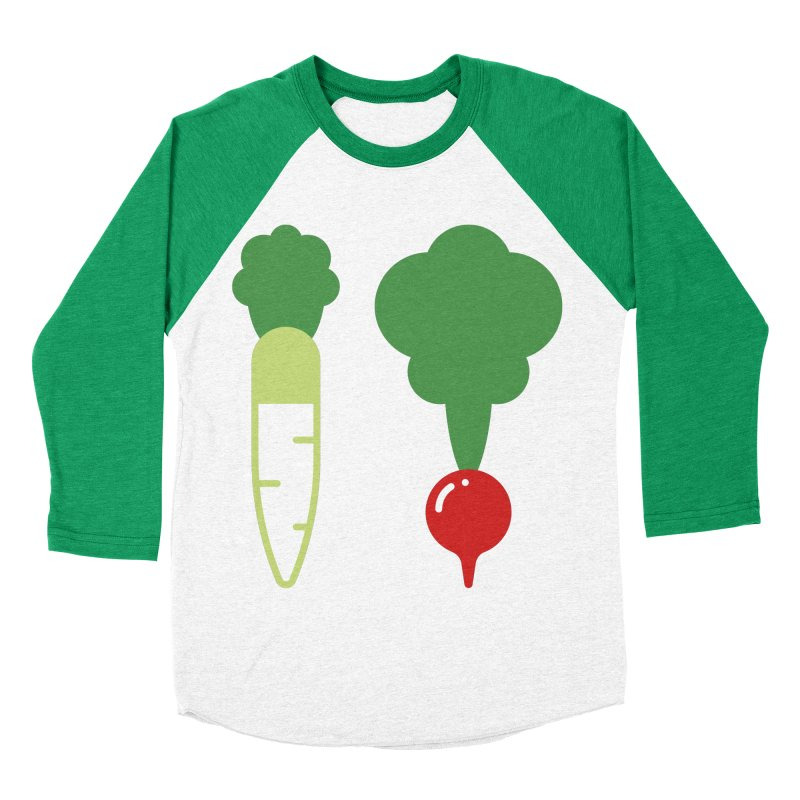 Radish Bros. Women's Baseball Triblend Longsleeve T-Shirt by TravisPixels's Artist Shop