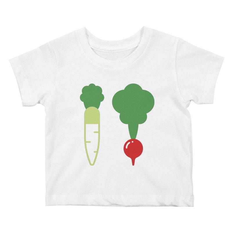 Radish Bros. Kids Baby T-Shirt by TravisPixels's Artist Shop