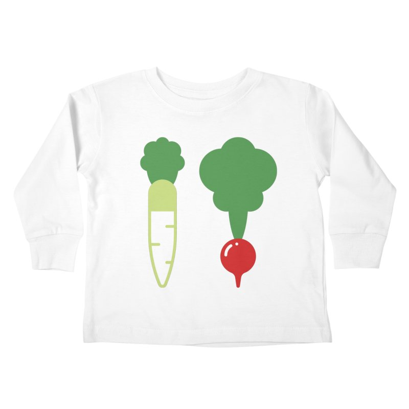 Radish Bros. Kids Toddler Longsleeve T-Shirt by TravisPixels's Artist Shop
