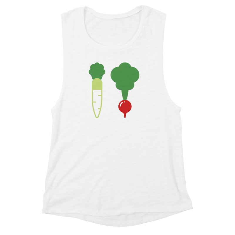 Radish Bros. Women's Muscle Tank by TravisPixels's Artist Shop