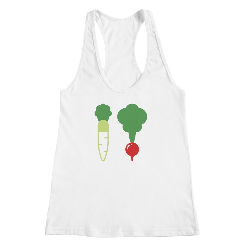 Radish Bros. Women's Racerback Tank by TravisPixels's Artist Shop