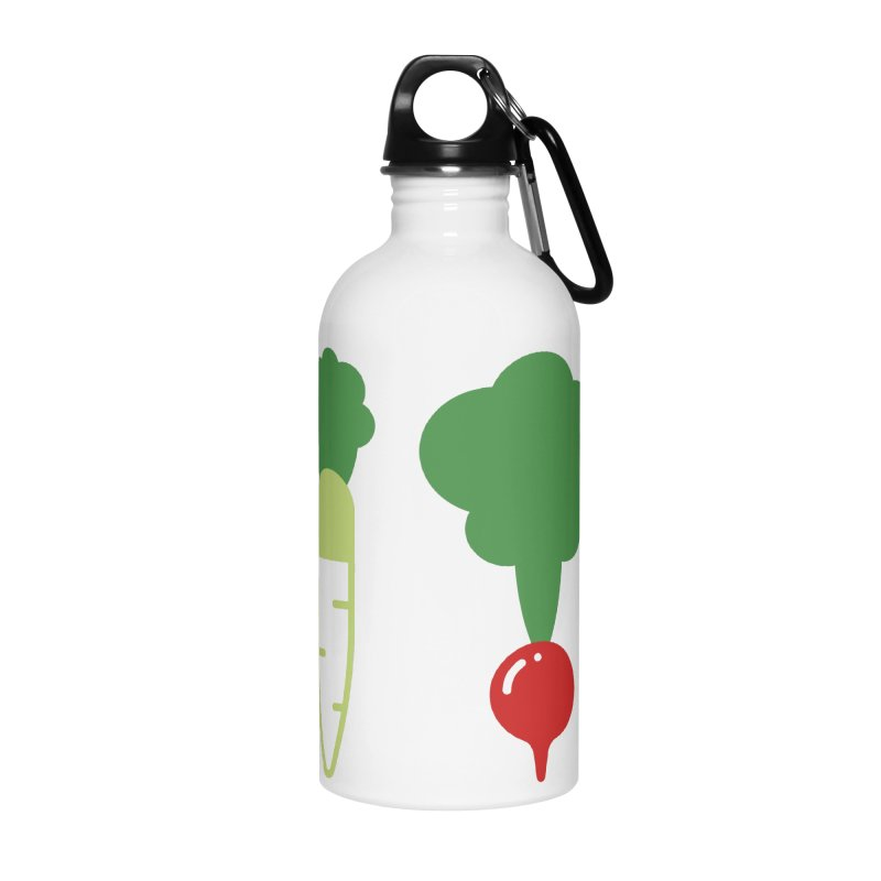 Radish Bros. Accessories Water Bottle by TravisPixels's Artist Shop