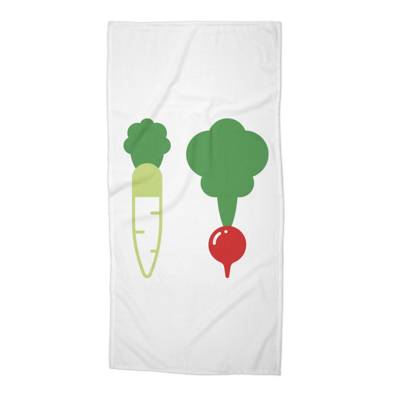 Radish Bros. Accessories Beach Towel by TravisPixels's Artist Shop