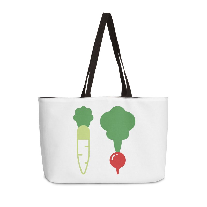 Radish Bros. Accessories Weekender Bag Bag by TravisPixels's Artist Shop