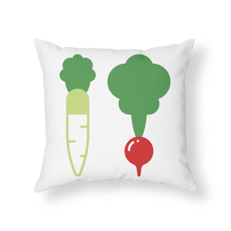Radish Bros. Home Throw Pillow by TravisPixels's Artist Shop