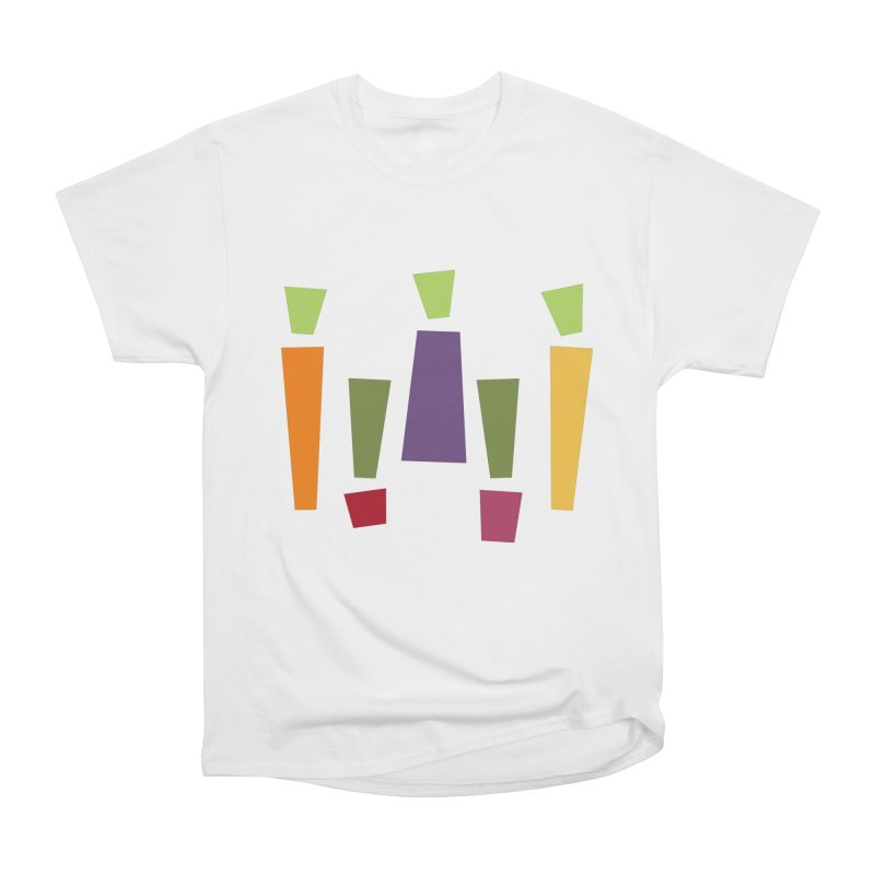 Abstract Vegetables Men's Heavyweight T-Shirt by TravisPixels's Artist Shop
