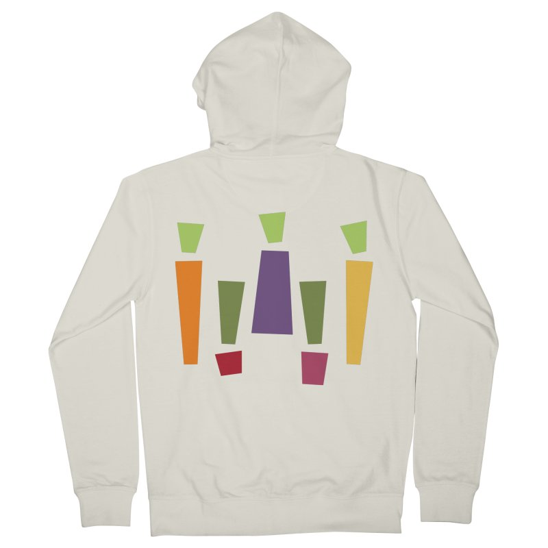 Abstract Vegetables Women's French Terry Zip-Up Hoody by TravisPixels's Artist Shop