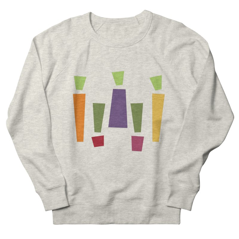 Abstract Vegetables Women's French Terry Sweatshirt by TravisPixels's Artist Shop