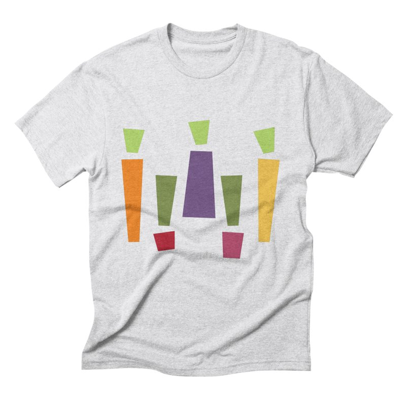 Abstract Vegetables Men's Triblend T-Shirt by TravisPixels's Artist Shop