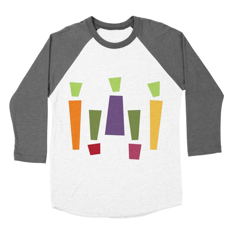Abstract Vegetables Women's Baseball Triblend Longsleeve T-Shirt by TravisPixels's Artist Shop