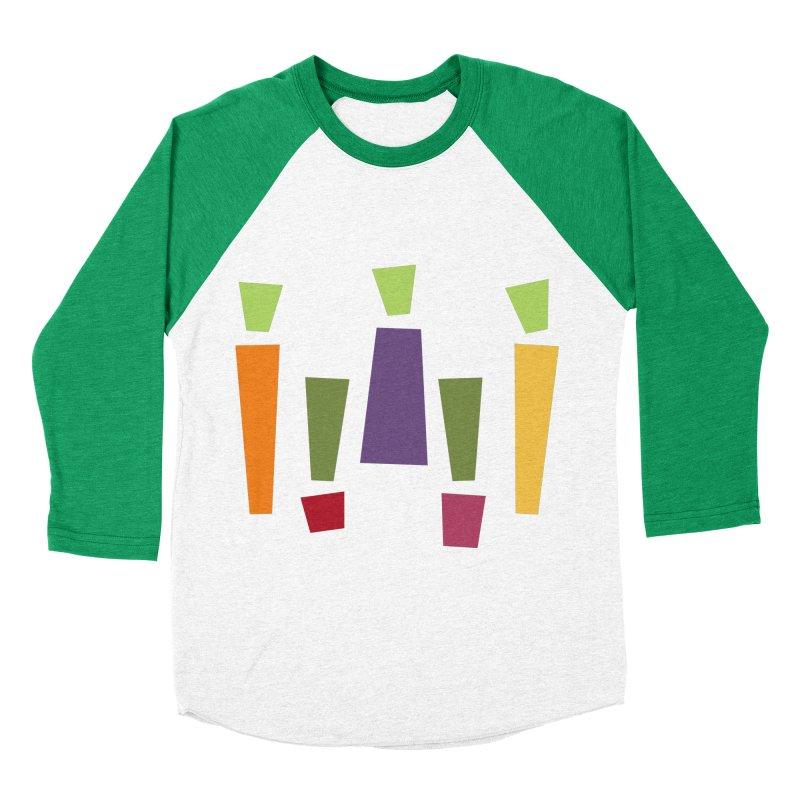 Abstract Vegetables Men's Baseball Triblend Longsleeve T-Shirt by TravisPixels's Artist Shop