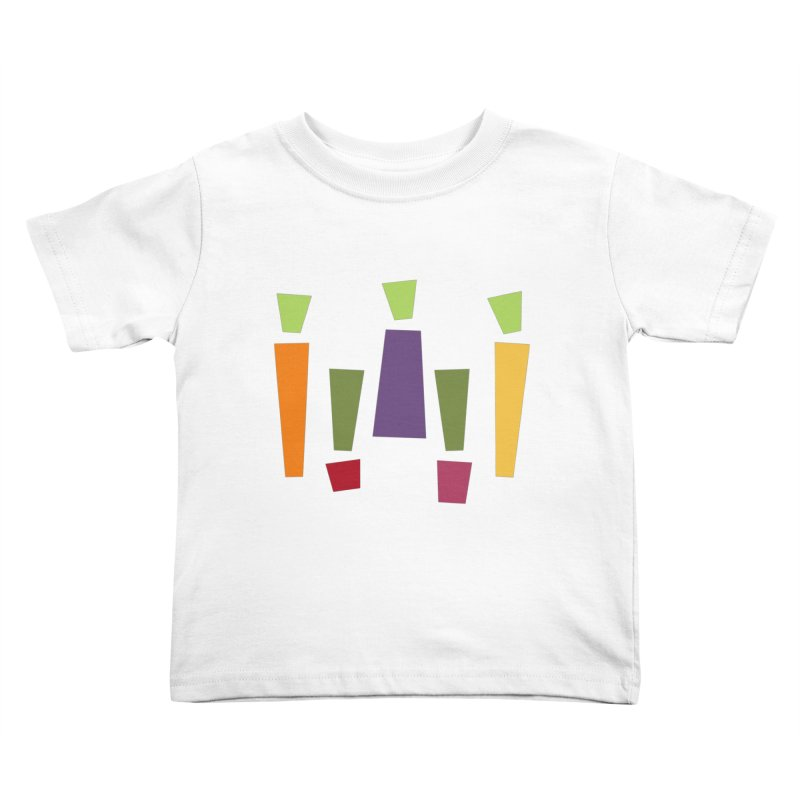 Abstract Vegetables Kids Toddler T-Shirt by TravisPixels's Artist Shop