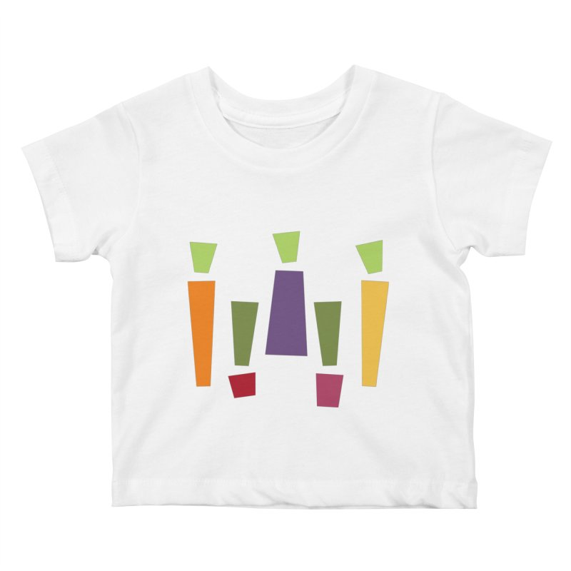 Abstract Vegetables Kids Baby T-Shirt by TravisPixels's Artist Shop