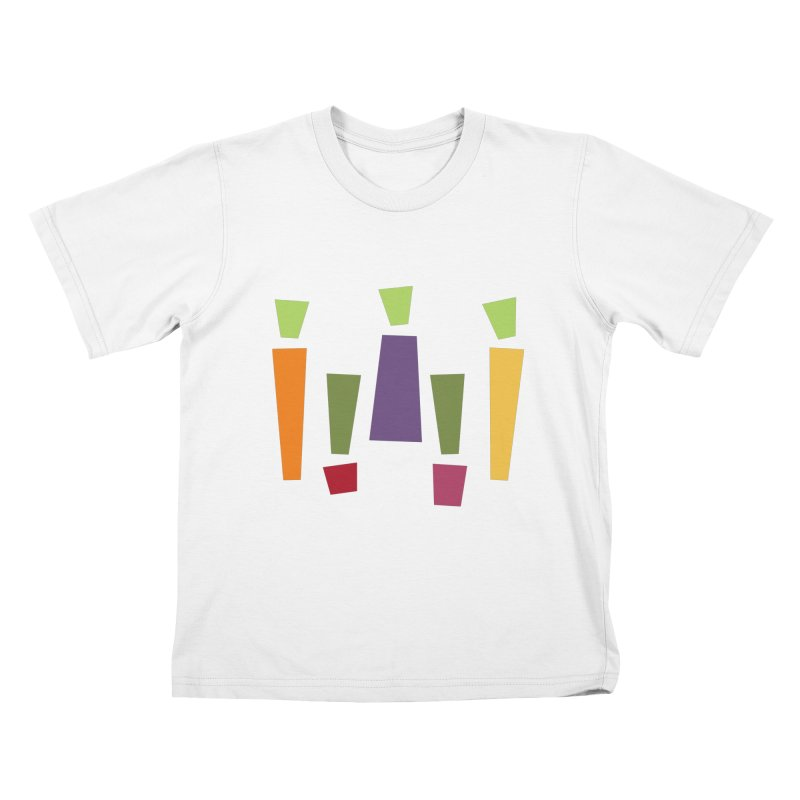 Abstract Vegetables Kids T-Shirt by TravisPixels's Artist Shop