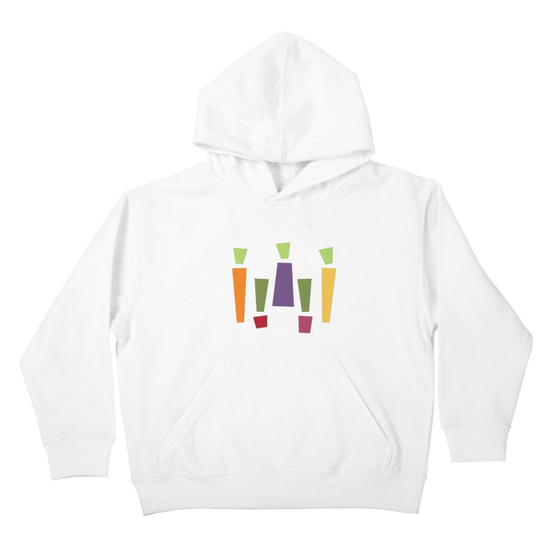 Abstract Vegetables Kids Pullover Hoody by TravisPixels's Artist Shop