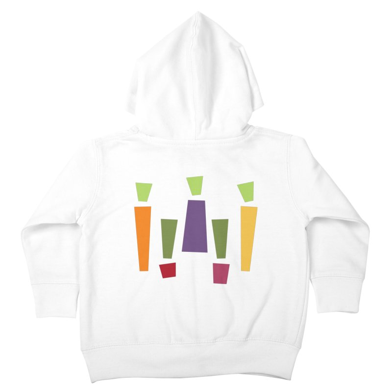 Abstract Vegetables Kids Toddler Zip-Up Hoody by TravisPixels's Artist Shop
