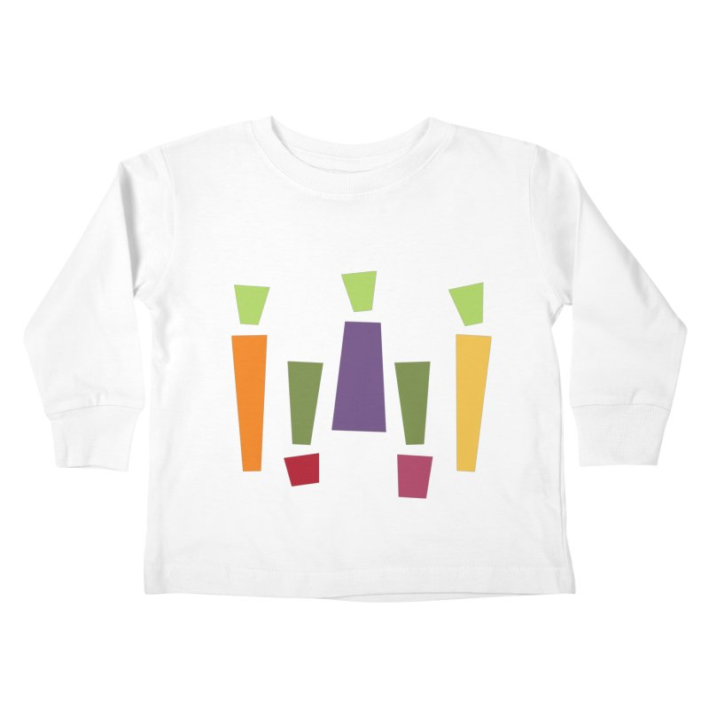 Abstract Vegetables Kids Toddler Longsleeve T-Shirt by TravisPixels's Artist Shop