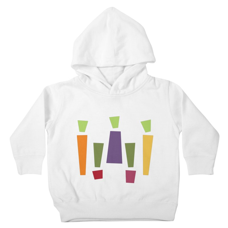 Abstract Vegetables Kids Toddler Pullover Hoody by TravisPixels's Artist Shop