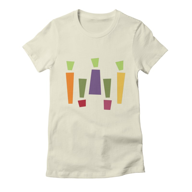 Abstract Vegetables Women's Fitted T-Shirt by TravisPixels's Artist Shop