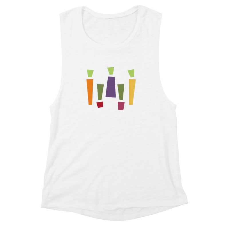 Abstract Vegetables Women's Muscle Tank by TravisPixels's Artist Shop