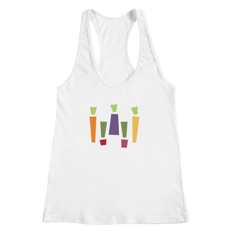 Abstract Vegetables Women's Racerback Tank by TravisPixels's Artist Shop