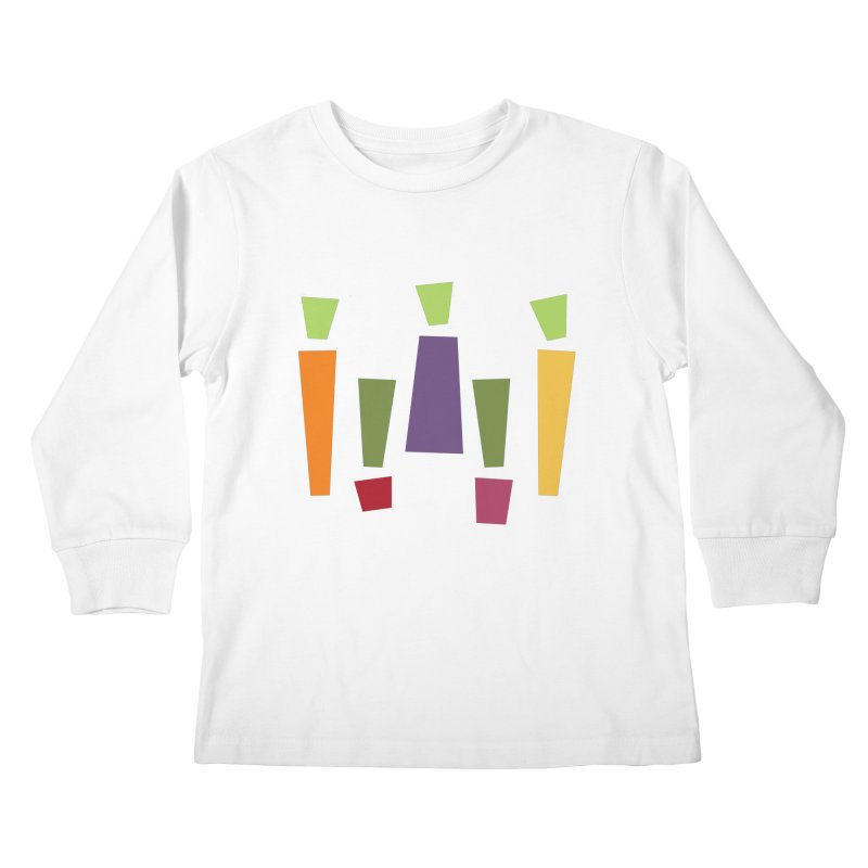 Abstract Vegetables Kids Longsleeve T-Shirt by TravisPixels's Artist Shop