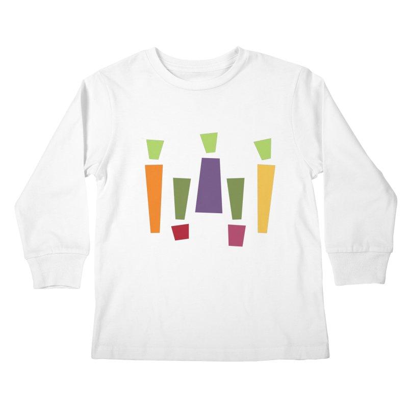 Abstract Vegetables Kids Longsleeve T-Shirt by TravisPixels's Artist Shop