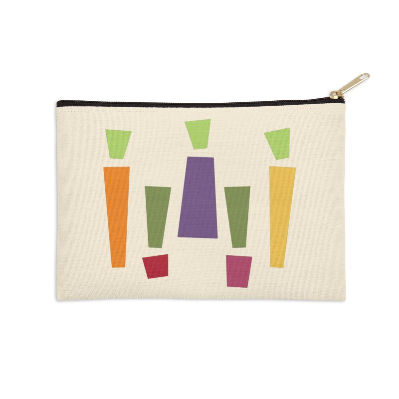 Abstract Vegetables Accessories Zip Pouch by TravisPixels's Artist Shop