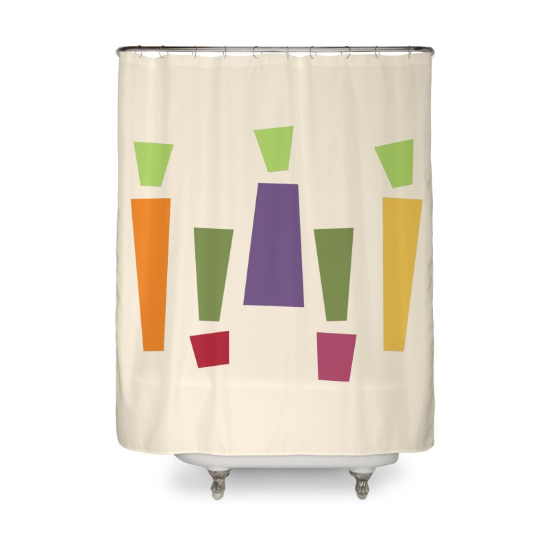 Abstract Vegetables Home Shower Curtain by TravisPixels's Artist Shop