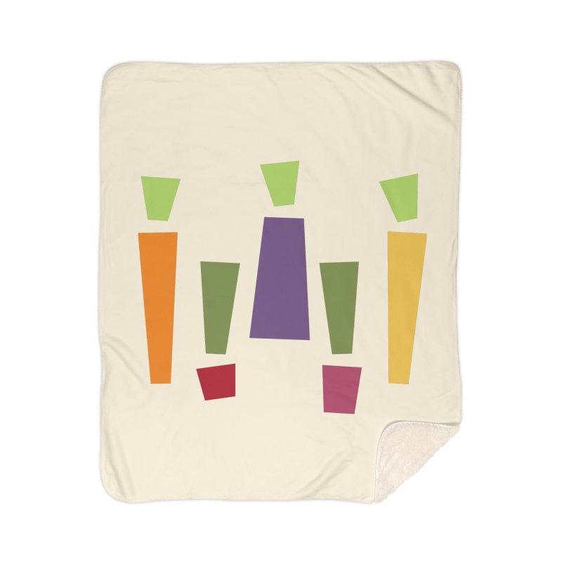 Abstract Vegetables Home Sherpa Blanket Blanket by TravisPixels's Artist Shop