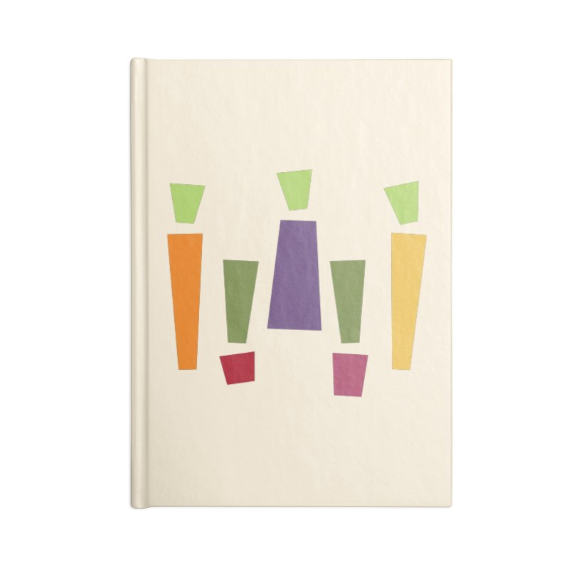 Abstract Vegetables Accessories Lined Journal Notebook by TravisPixels's Artist Shop