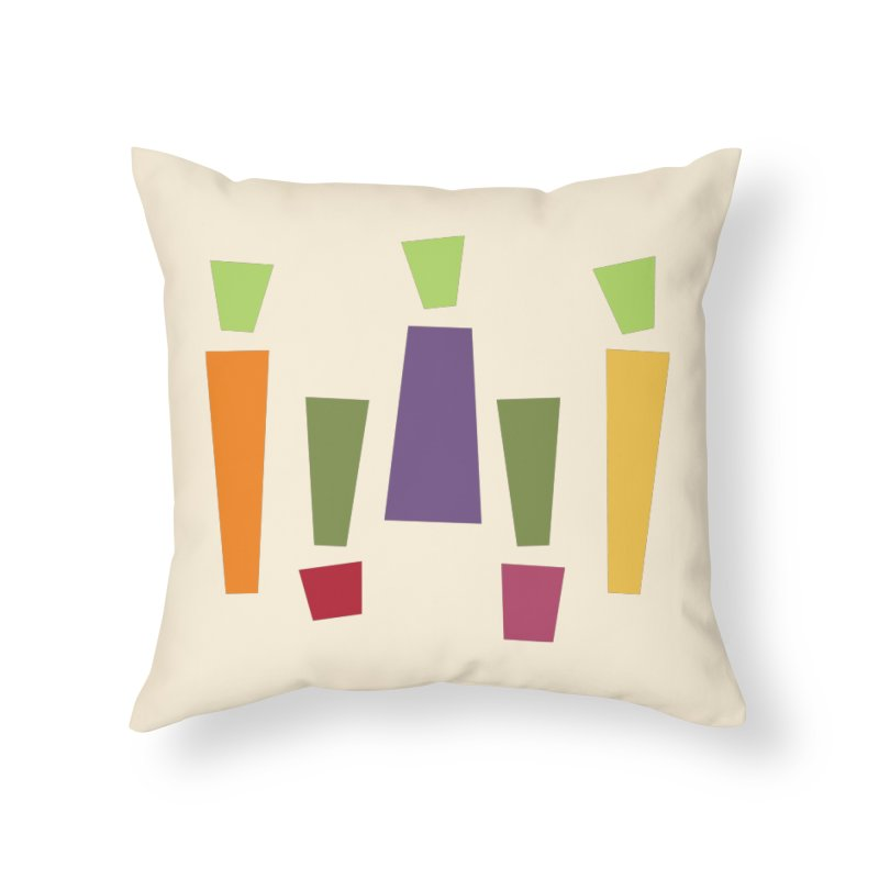 Abstract Vegetables Home Throw Pillow by TravisPixels's Artist Shop