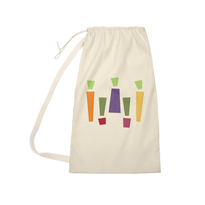 Abstract Vegetables Accessories Laundry Bag Bag by TravisPixels's Artist Shop