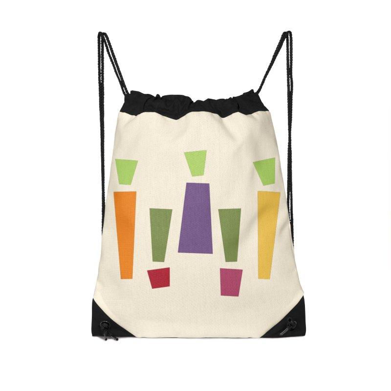 Abstract Vegetables Accessories Drawstring Bag Bag by TravisPixels's Artist Shop