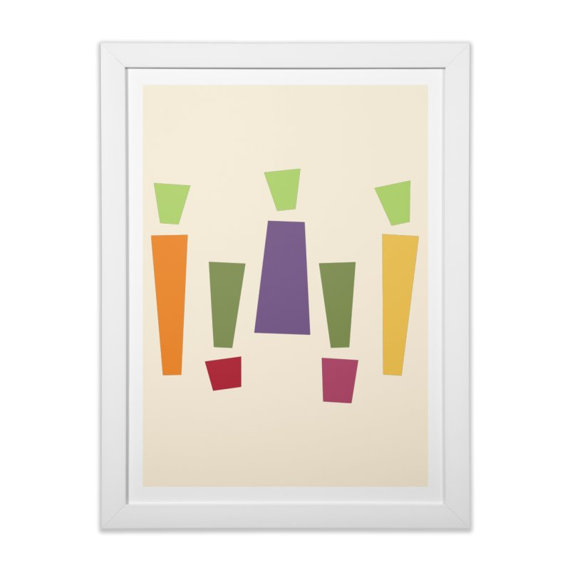 Abstract Vegetables Home Framed Fine Art Print by TravisPixels's Artist Shop