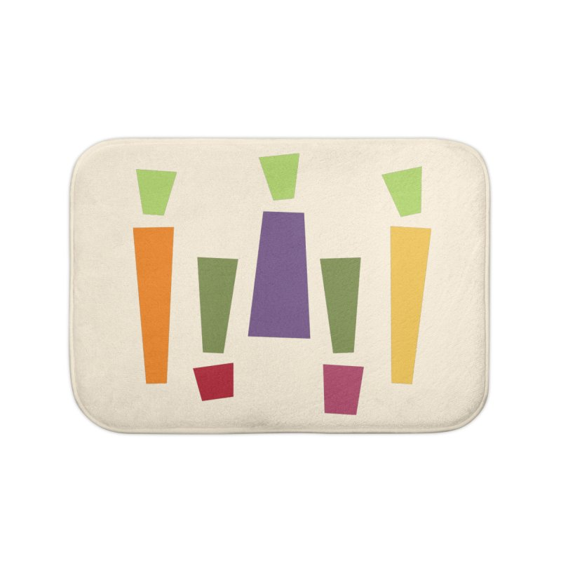 Abstract Vegetables Home Bath Mat by TravisPixels's Artist Shop