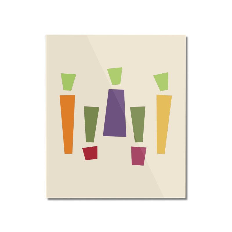 Abstract Vegetables Home Mounted Acrylic Print by TravisPixels's Artist Shop