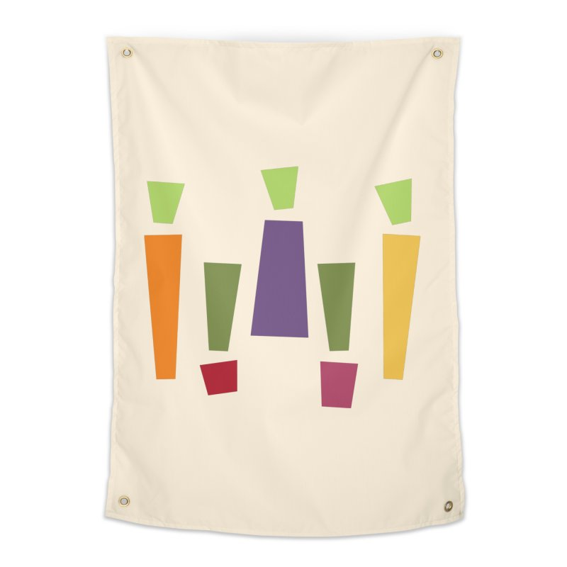 Abstract Vegetables Home Tapestry by TravisPixels's Artist Shop
