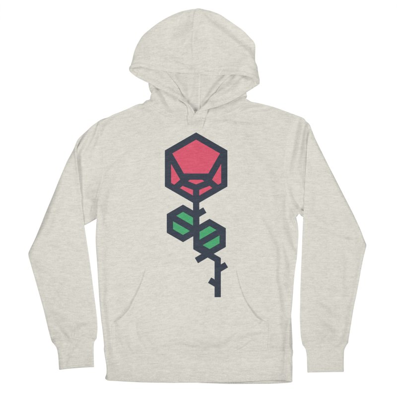 Rose Women's French Terry Pullover Hoody by TravisPixels's Artist Shop