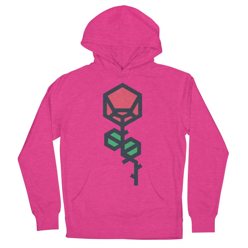 Rose Men's French Terry Pullover Hoody by TravisPixels's Artist Shop