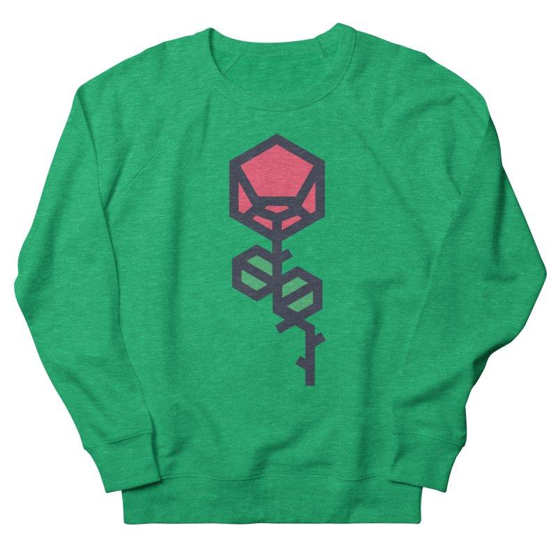 Rose Men's French Terry Sweatshirt by TravisPixels's Artist Shop