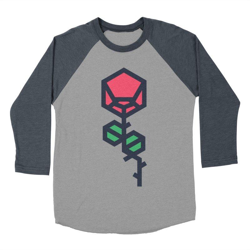 Rose Women's Baseball Triblend Longsleeve T-Shirt by TravisPixels's Artist Shop